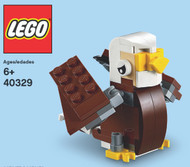 LEGO Eagle Mini Build Parts & Instructions Kit