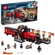 LEGO Harry Potter Hogwarts Express 75955 Toy Train Building Set includes Model Train and Harry Potter Minifigures Hermione Granger and Ron Weasley (801 Pieces)