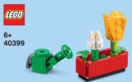 LEGO Flowers and Watering Can Mini Build Parts & Instructions Kit