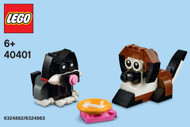 LEGO Dog and Cat Mini Build Parts & Instructions Kit