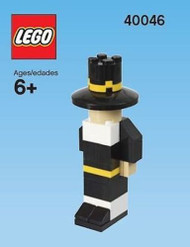 LEGO Pilgrim Mini Build Parts & Instructions Kit