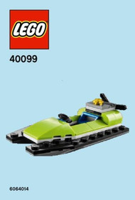 LEGO Jet-Ski/Swamp Boat Mini Build Parts & Instructions Kit