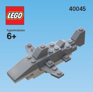 LEGO Shark (2012) Mini Build Parts & Instructions Kit