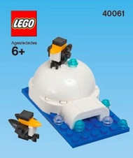 LEGO Igloo & Penguins Mini Build Parts & Instructions Kit