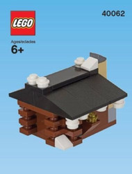 LEGO Log Cabin Mini Build Parts & Instructions Kit
