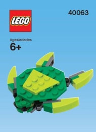 LEGO Sea Turtle Mini Build Parts & Instructions Kit