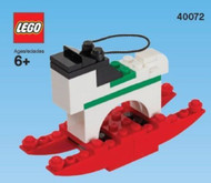 LEGO Rocking Horse Mini Build Parts & Instructions Kit