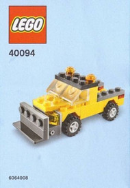 LEGO Snowplow Mini Build Parts & Instructions Kit