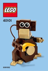 LEGO Monkey Mini Build Parts & Instructions Kit