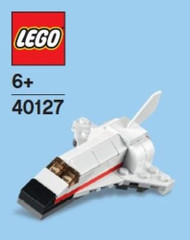 LEGO Space Shuttle Mini Build Parts & Instructions Kit
