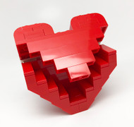 LEGO Mother's Day Heart Box Mini Build Parts & Instructions