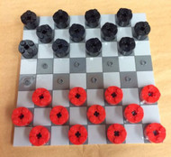 Constructibles Checkers Set New Board and Game Pieces
