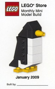 LEGO Penguin Mini Build Parts & Instructions Kit