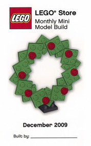 LEGO Christmas Wreath Mini Build Parts & Instructions Kit