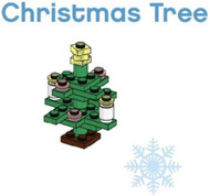 LEGO Christmas Tree Parts & Instructions  Special Mini Model Build