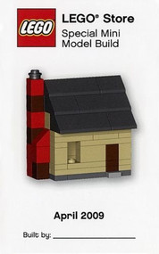 LEGO House Mini Build Parts & Instructions Kit