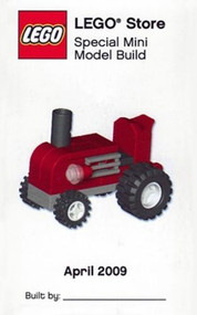 LEGO Tractor Mini Build Parts & Instructions Kit