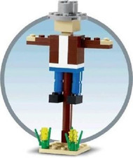 LEGO Scarecrow Mini Build Parts & Instructions Kit