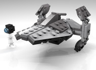 LEGO Star Wars Sith Infiltrator Parts & Instructions Kit