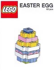 LEGO Easter Egg Mini Model LEGO Parts & Instructions Kit