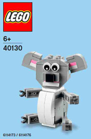 LEGO Koala Mini Build Parts & Instructions Kit