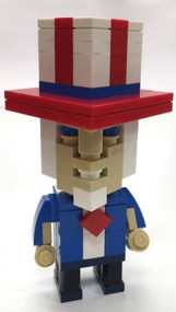 CubeVille Uncle Sam Parts & Instructions Kit