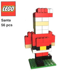 LEGO Pickable Model - Santa Parts & Instructions