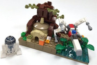 Reproduction Lego Star Wars䋢 SDCC Microscale Dagobah Parts & Instructions Kit