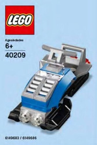 Constructibles Snowmobile LEGO® Parts & Instructions Kit - 40209