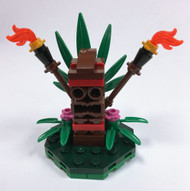 Constructibles Tiki Mini Model LEGO Parts & Instructions Kit