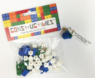 Constructibles Girl Scout SWAPS Kit - 10 LEGO Daisies (Blue)