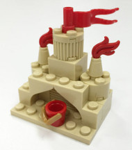 Constructibles® Sandcastle Mini Model LEGO® Parts & Instructions Kit