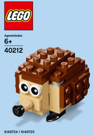 LEGO Hedgehog Mini Build Parts & Instructions Kit