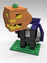 Constructibles® CubeVille Headless Horseman - LEGO® Parts & Instructions Kit