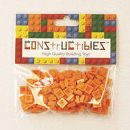 Constructibles® x100 Orange 1x1 Plates 3024 - LEGO® Bulk Parts
