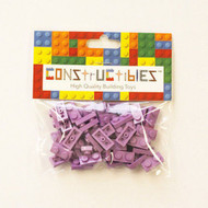 Constructibles® x50 Medium Lavender 1x2 Plates 3023 - LEGO® Bulk Parts