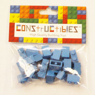 Constructibles® x25 Medium Blue1x2 Bricks 3004 - LEGO® Bulk Parts