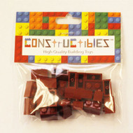 Constructibles® x25 Dark Red 1x2 Bricks 3004 - LEGO® Bulk Parts