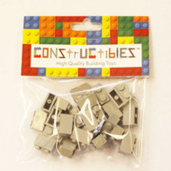 Constructibles® x25 Classic Light Gray 1x2 Bricks 3004 - LEGO® Bulk Parts