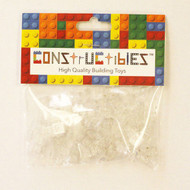 Constructibles® x100 Transparent Clear 1x1 Plates 3024 - LEGO® Bulk Parts