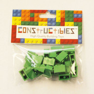 Constructibles® x25 Bright Green 1x2 Bricks 3004 - LEGO® Bulk Parts