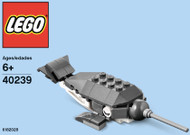 LEGO Narwhal Mini Build Parts & Instructions Kit