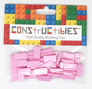 Constructibles® x50 Pink 1x2 Tiles 3069 - LEGO® Bulk Parts