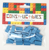 Constructibles® x50 Medium Blue 1x2 Tiles 3069 - LEGO® Bulk Parts