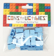 Constructibles® x25 Bright Light Blue 1x2 Bricks 3004 - LEGO® Bulk Parts