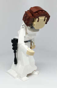 Constructibles Princess Leia Figure - LEGO® Parts & Instructions Kit