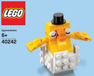 LEGO Baby Chick Mini Build Parts & Instructions Kit