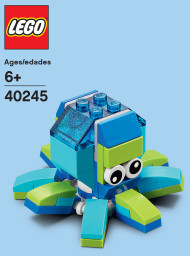 LEGO Octopus Mini Build Parts & Instructions Kit