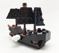Constructibles Mini Pirate Ship - LEGO® Parts & Instructions Kit