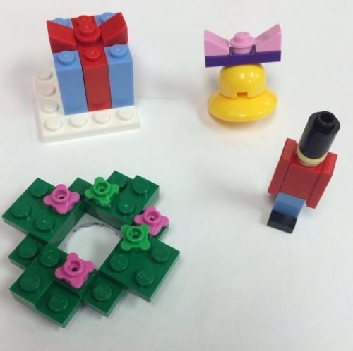 Lego Friends Christmas Mini Sets Parts Instructions Constructibles